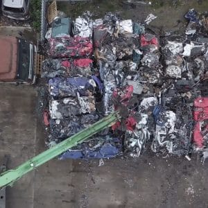 Birds eye scrap cars